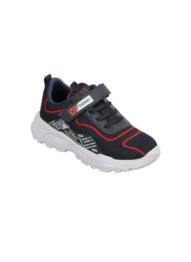 Cosby 306 F.Ayk Buz-Pembe  Çocuk Spor Ayakkabı Lacivert